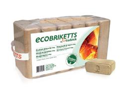 »ECOBRIKETTS» træbriketter